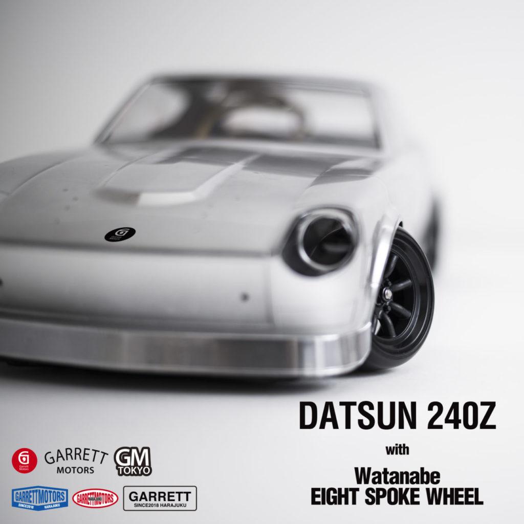 カスタムしたラジコンを動画撮影してユーチューブにアップ!!YD-2S DATSUN 240Z で動画撮影(1作目)