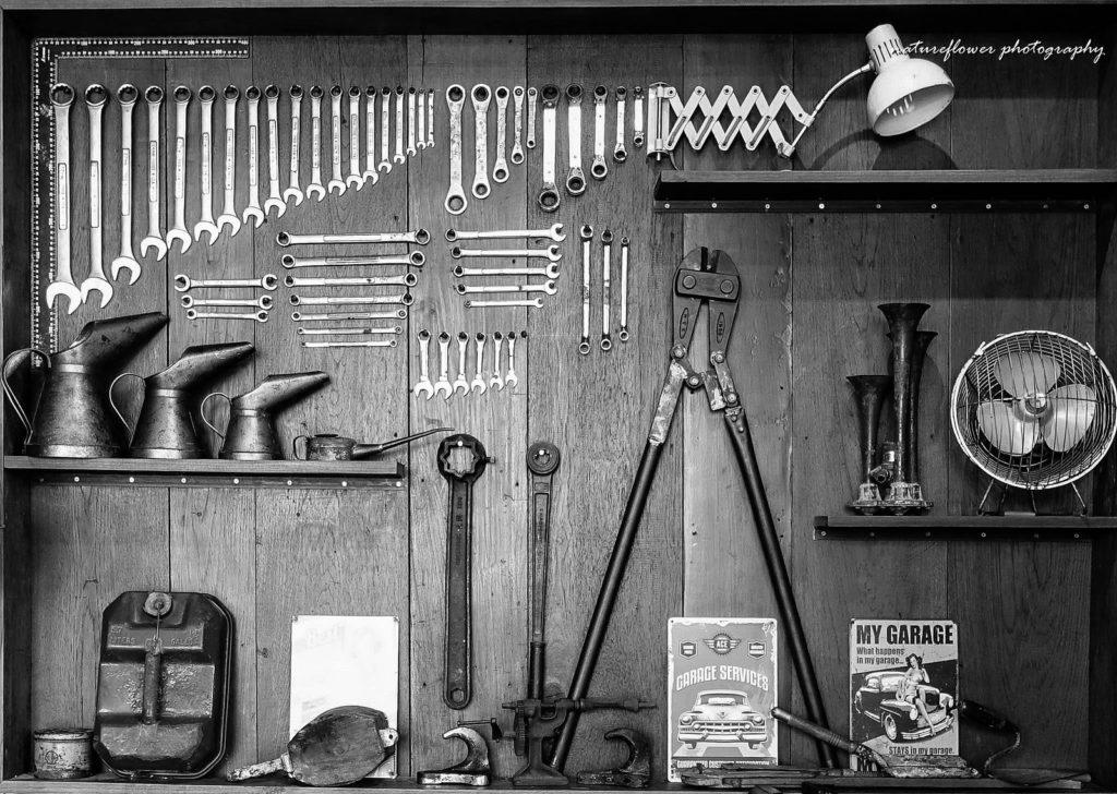 R/C CARに使う組み立て工具
