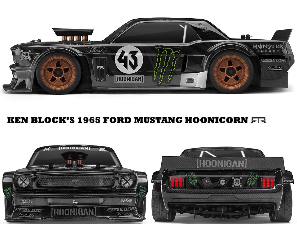 Ken Block 1965 Ford Mustangのラジコン