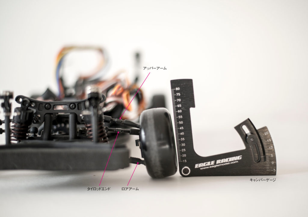 RC CARまず最初にしたい3つの基本セッティング