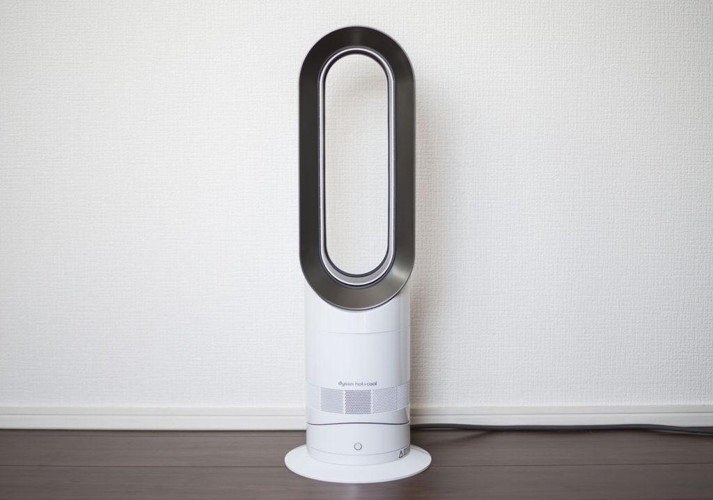 羽のない扇風機の更なる進化 ダイソン ファンヒーター hot+cool 電気代とデザインの狭間で