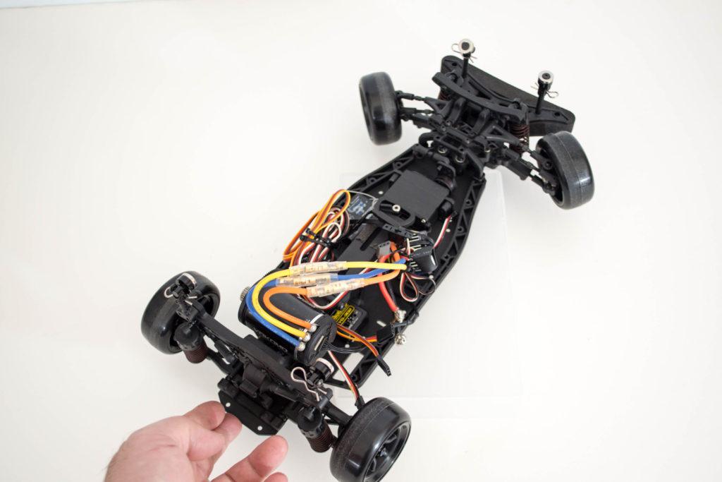 2WD(RWD)ドリフトのジャイロ動作確認の基本